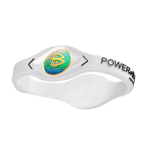 Power Balance / GWSA09BK00WTLP Bracelet silicone Blanc Noir
