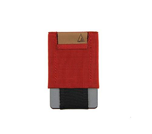 Nomatic Basic Wallet praktische Geldbörse für Männer und Frauen, minimalistisch und leicht, in verschiedenen Farben (Red) - Basic Wallet