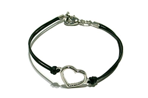 cord-bracelet-with-heart-in-brass-palladium-plated-and-e-coating