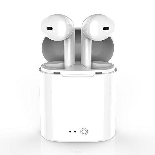Gzmy auricolare bluetooth, veri cuffie senza fili bluetooth 4.1 in-ear apple con scatola di ricarica per iphone samsung huawei e altri smartphone android