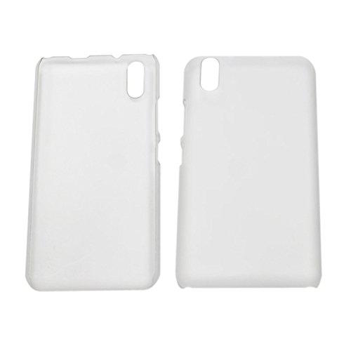 Guran® Hart Plastik Schutzhülle Case Cover für Ulefone Paris Smartphone Hülle Handytasche Etui-transparent weiß
