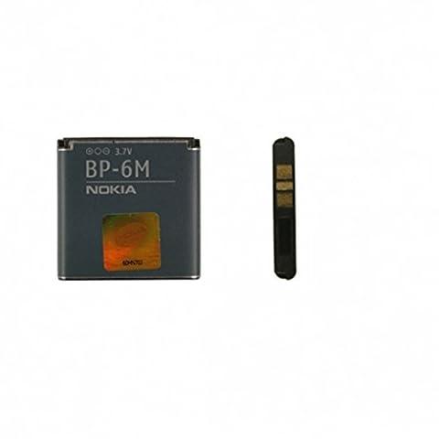Original Handy Akku BP-6M für Nokia 9300 9300i 3250 6110N 6151 6233 6234 6280 6288 N73 N77 N81 N93