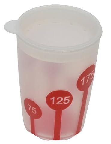 Ornamin 820 / 814 Non-Slip Cup with Scale 220 ml