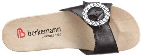 Berkemann Tamara Damen Pantoletten Schwarz (schwarz 901)