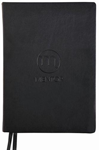 MENTOR Planer ® motivierender Lebensplaner als Terminkalender undatiert schwarz - beginne jederzeit - Wochenplaner für Termine Coach fürs Leben