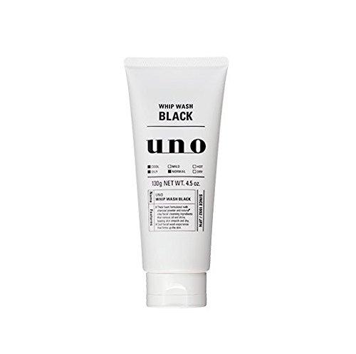 Shiseido Uno Peitsche Wash schwarz 130g (Face Wash) (Shiseido-gesicht Waschen)