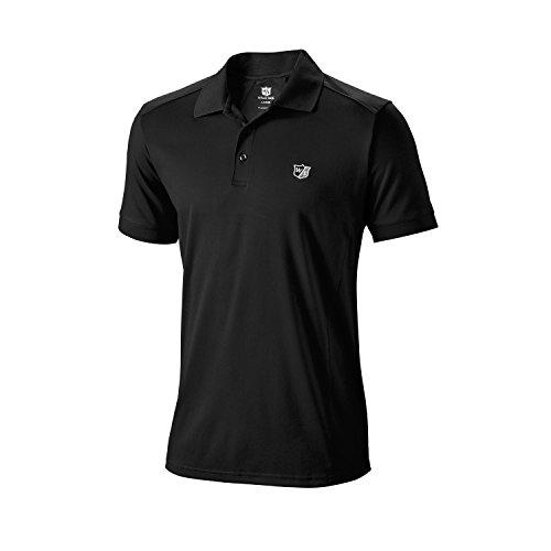 Wilson Golf Homme Polo de Sport, PERFORMANCE POLO,...
