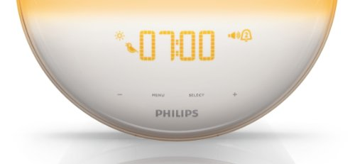 Philips HF3520/01 Wake-Up Light (Sonnenaufgangfunktion, digitales FM Radio, Tageslichtwecker) weiß - 8