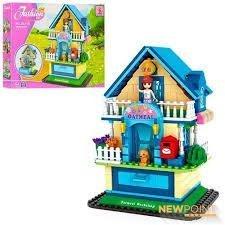 geniale Spielsachen Abby's Kabine Haus mit Schublade / 415pcs Bauklötze Baukasten #24710 (Haus Kabine)