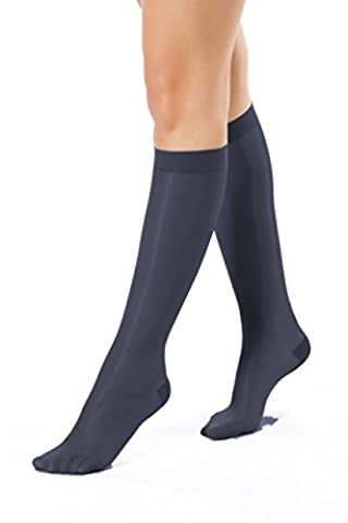 ®BeFit24 Elegant Knee High Graduated Mild Compression (10-14 mmHg, 40 Denier) Support Socks for Women - Great for Swelling Relief, Varicose and Spider Veins Prevention, Ankle Pain, Cramps