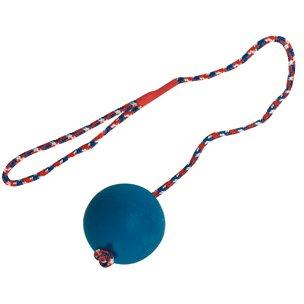 hundeinfo24.de Hundespielzeug: SCHLEUDERBALL aus Gummi Ø 7,5 x 50cm #501777