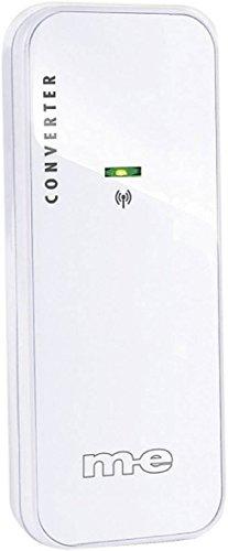 m-e Bell-212 TX Funkverlängerung für Türklingeltaster/Konverter, weiß, (Bx Hx T) 38x 90x 23mm. - Moderne Computer-kästen