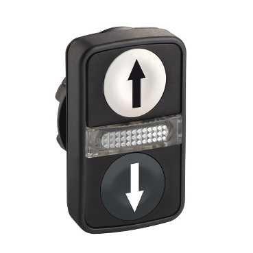 Schneider elec pic - mss 41 30 - Cabeza doble pulsador luminoso...