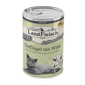 Landfleisch Adult Schlemmertopf Geflügel&Wild   6X 400g Katzenfutter