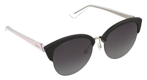 Christian dior diorun hd bjn, occhiali da sole donna, oro (gold blk pnk/grey sf), 65