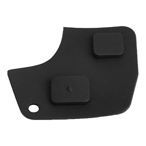 KIMISS Key Gehäuse Case Cover Key Ersatz Abdeckung Remote Car Entry Schlüsselanhänger Shell Gummiauflage