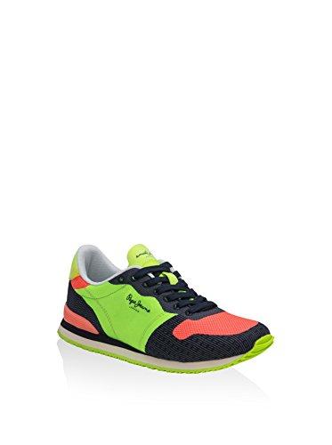 Sport scarpe per le donne, colore Giallo , marca PEPE JEANS, modello Sport Scarpe Per Le Donne PEPE JEANS GABLE WOVEN Giallo 639 lima