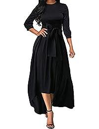 2742e2c9c6bd Amazon.it  Maniche Tre Quarti - Nero   Vestiti   Donna  Abbigliamento