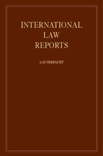 International Law Reports: Volume 48
