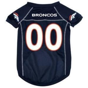Denver Broncos NFL pour animal domestique Chien en maille Maillot de football XS 4–4,5kilogram