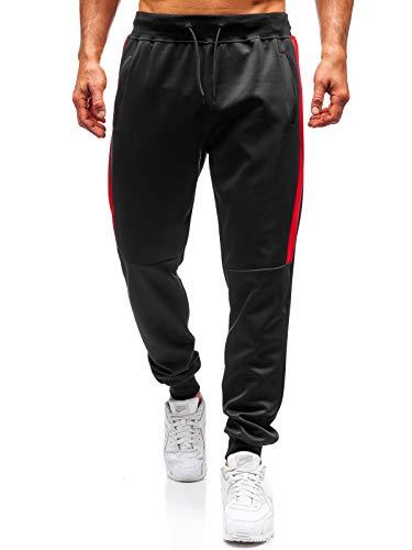 BOLF Pantaloni Sportivi - Cotone - di Tuta - Casual - da Uomo J.Style 99011 Neri L [6F6]