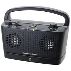 audio-technica SOUND ASSIST デジタルワイヤレスステレオスピーカーシステム ブラック AT-SP767TV BK