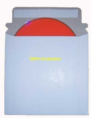 Karton Versandtasche Für Einzel CD/DVD Disc (50 Stück Packung)