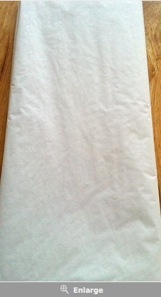 Monster Parties 10 Sheets White Tissue Paper - Acid Free