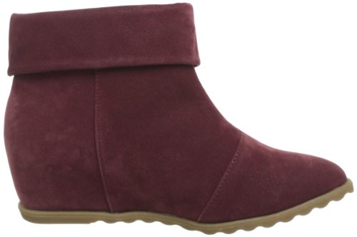 Blowfish Script Wedge Ankle Boot, Bottes femme Rouge - Rot (wine fawn PU BF338)