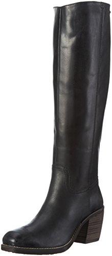Bugatti V77311, Bottes Hautes Femme Noir (Schwarz 100)