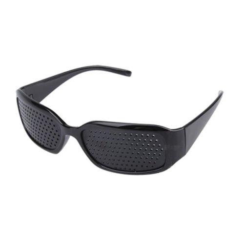 Brille zum Ausruhen in Lochkamera-Hilfe zur Verbesserung der Blick (schwarz) (Pinhole Black)
