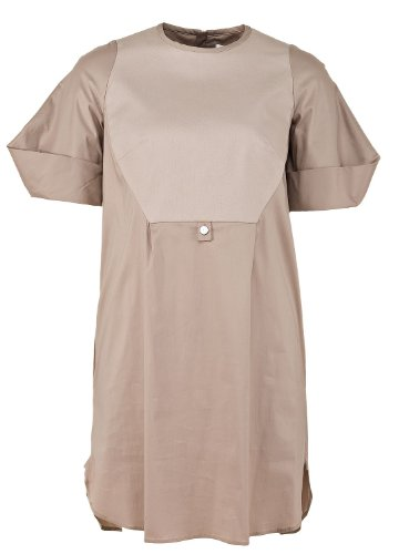 paule-ka-womens-dress-beige-beige