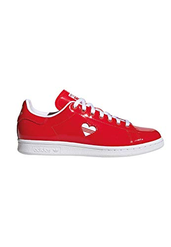 25a812d1c254f7 adidas Damen Stan Smith W Sneaker Rot Footwear White Active Red 0