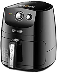 Black+Decker 5L/1.2kg/1500W XL Air Fryer Aerofry, AF550-B5, Black, 2 Years Manufacturer's Warr