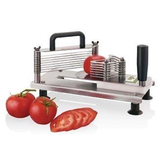 Winware Tomatenschneider (Profi Hobel mit gewellter Klinge 5,5 mm, die Scheiben in Sekundenschnelle) -