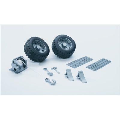 Bruder 02407  - Kit de Accesorios para Mercedes Benz Unimog 02470, 02474, 02480, 02580