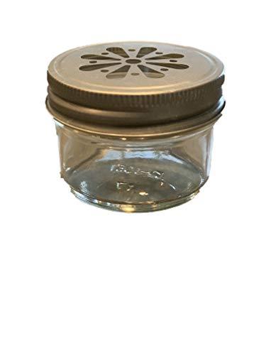 4Oz Mason Jar Rund Klar Regular Mund in Fall der 12(12Stück) von Verpackung für Sie gold