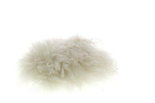 UGG Hausschuhe - FLUFF MOMMA MAGNOLIAN CLOG - white, Größe:41 EU