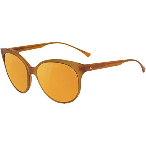 Vuarnet Sonnenbrille Romy VL1605Bernstein Pure Brown Flash Gold, Marron, Jaune, Sans