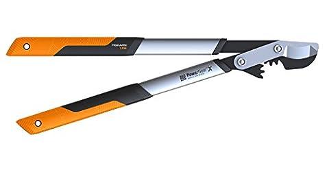 Fiskars 112390 Powergear X L Coupe-branches à crémaillère/lame franche 65 cm ø 50 mm