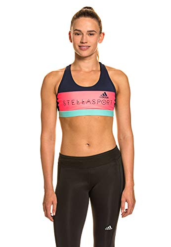 adidas Sports Bra (Pad) Women's Sports Bra Indigo Blue, Dimensione:XS