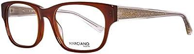 Guess Brille GM026451050 Monturas de gafas, Marrón (Braun), 52 para Mujer