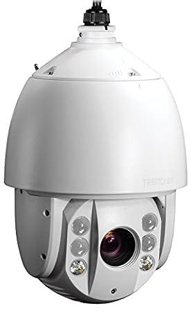 Trendnet TV-IP450PI Outdoor 1.3 MP HD PoE IR Speed Dome Netzwerkkamera weiß