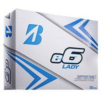 Bridgestone 2019 e6 Lady Golfball, Weiß, 12 Stück (Golfbälle B330 Bridgestone)