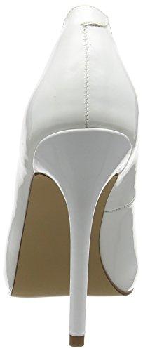 Pleaser Damen Amuse-20 Plateau Weiß (Weiss (Wht Pat))