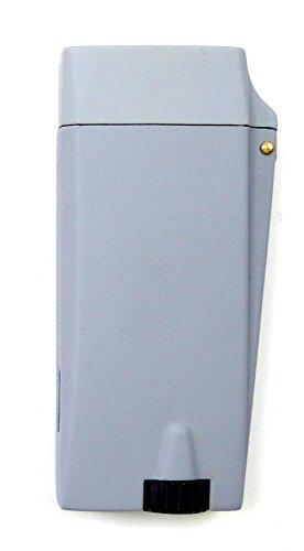 Trendit edles Designer Feuerzeuge mit Elektro-Gas Zündung HB3 (hell grau)