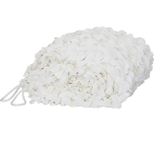 YGUOZ Tarnnetz, Tarnnetz, Tarnnetz, für Camouflage, Wüstenbalkon, weiß, 10x8m(33x26ft)