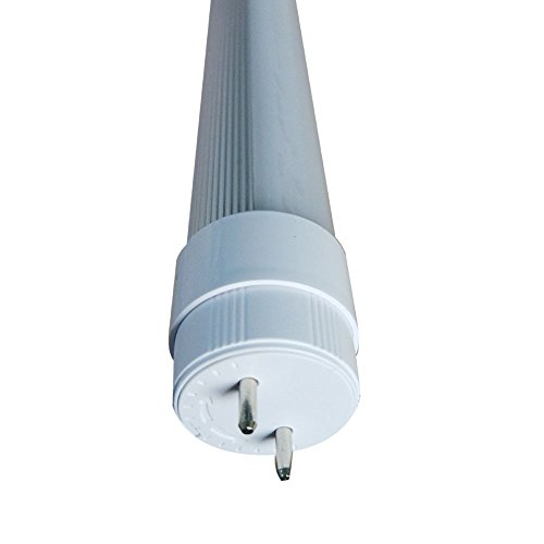 Frosted 18″ 1.5FT 7W (15W Equivalent) DC12V T8 LED Tube 3000K Warm White With Rotatable End Cap for RV