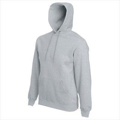 Fruit of the Loom - Kapuzen-Sweatshirt 'Hooded Sweat' L,Heather Grey -