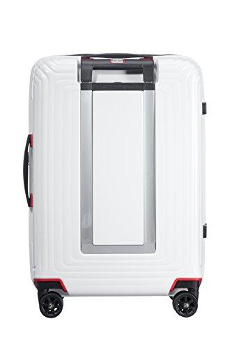 SAMSONITE Neopulse Spinner 55 - 2.3 KG Handgepäck, cm, 44 Liter, Weiß (Mattweiß) - 2